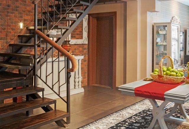 Лестница на 2 этаж своими руками металлическая