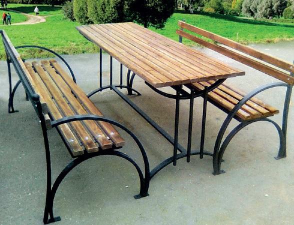 Фото садовых скамеек столов своими руками